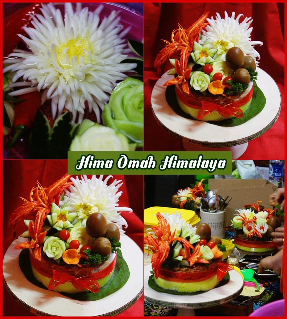 Garnish Tumpeng Class by Hima OmahHimalaya