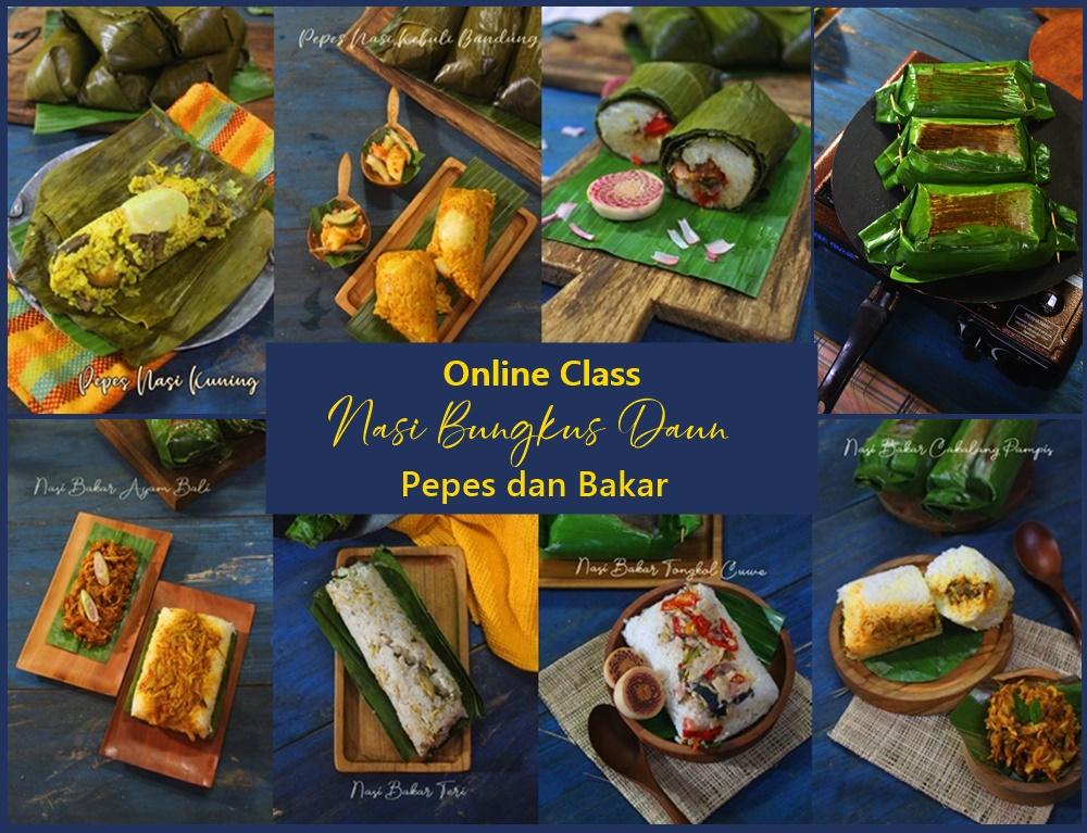 Online Class Nasi BungkusDaun
